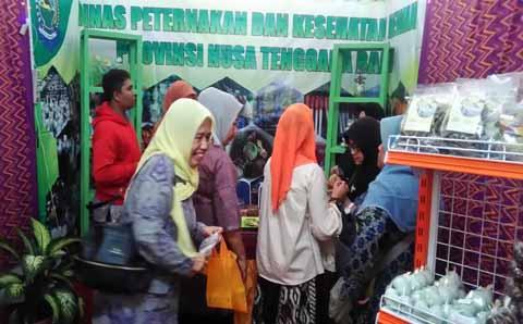Pameran The 15 th NTB Expo 2017 Di Islamic Center Kota Mataram